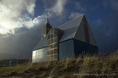 THE SUN CAME OUT TO PLAY....CHURCH, ICELAND. (IMAGES OF WALES.... (TIMWOOD)) Tags: wood cloud lake ice church statue landscape fire photography frozen tim iceland gallery cloudporn fireandice cloudage