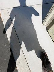 shadow play : man, sacramento, california (2014) (he who would be lost) Tags: california shadow summer man sunshine saint scott play richard sacramento dsespoir torbakhopper