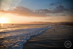 Santa Monica, Los Angeles (samstottphoto) Tags: city sunset summer beach la los angeles santamonica angles venicebeach