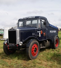 'M2089'  VXD 549  1958  SCAMMELL  Highwayman  Ballast  Tractor  PICKFORDS  Photo  1 (Mr Sandtoft.) Tags: spectacular april 26th 2014 scammell ackworth