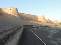 DSCN5502 (bentchristensen14) Tags: uzbekistan citywall khiva ichonqala