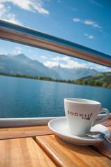 (  Abdallah Al-Qahtani   ) Tags: trip sky lake nature coffee ship