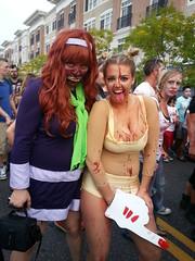 Asbury Park Zombie Walk 2013 (Lindeeto1287) Tags: park zombie walk asbury daphne cyrus scooby miley 2013