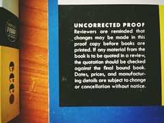 uncorrected proof (noodlepie) Tags: book eating books vietnam cover proof ecco bookcover publishing galley mybook firstbook