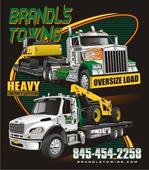 "Brandl's Towing - Poughkeepsie, NY • <a style=""font-size:0.8em;"" href=""http://www.flickr.com/photos/39998102@N07/15495979472/"" target=""_blank"">View on Flickr</a>"