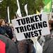 Kurdish protest against ISIS