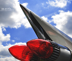 Excess (Hi-Fi Fotos) Tags: light wild detail vintage design nikon classiccar antique tail style icon cadillac sharp chrome american fin luxury excess 59 1959 d5000 hallewell hififotos