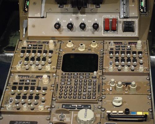 747- 400 Radio Stack