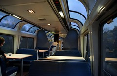 Early morning lounge (South Shore Fan) Tags: amtr amtrak lounge car loungecar superliner