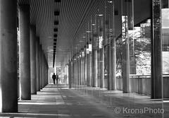 Street lines, Bergen , Norway (KronaPhoto) Tags: bnw bw blackandwhite street gatefoto lines linjer urban arcade architecture arkitektur building bygning people mennesker bergen norway