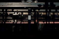 Platform (dtanist) Tags: nyc newyork newyorkcity new york city sony a7 canon fd 50mm brooklyn coney island stillwell avenue station mta subway terminal tracks elevated platform shadows