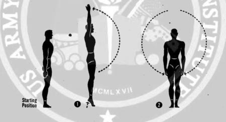 10 exercises to improve posture, military style