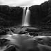 Gufufoss II (Peter Hill1) Tags: peterhill iceland monochrome blackwhite waterfall gufufoss landscape longexposure canoneos5dmarkii canontse24mmf35l hoyandx400