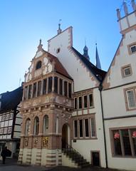 10-IMG_0570 (hemingwayfoto) Tags: architektur bauwerk deutschland erker europa giebel hansestadt hochschulstadt kreislippe lemgo marktplatz nordrheinwestfalen nrw papenstrase regbezdetmold reisen stadt