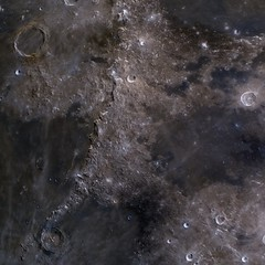 Montes Apenninus (manuel.huss) Tags: moon crater moonscape space luna montes apenninus apollo15landingsite mineral detail surface saturation contrast telescope science geology astronomy astrophotography