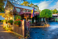 German Village Shop on Main street of Hahndorf (spotandshoot.com) Tags: 2017 accommodation adelaide april australia hahndorf handorf main south antique area autumn beautiful building cafe destination exterior german green heritage hills historical holiday iconic old outside popular red restaurant season settlement shop street structure tourism tourist town tradition transport unique vacation views village vintage yellow sa