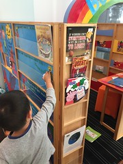 Putting our books in the Book Cubby (1)