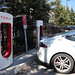 Charging a Tesla