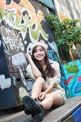 Yibi0023 (Mike (JPG直出~ 這就是我的忍道XD)) Tags: yibi 西門町 d300 model beauty 外拍 portrait 2013 fifi
