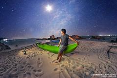 In the Night Sky (CharithMania) Tags: srilanka charithmania starrynight milkywaycharithmania milkyway boat trincomalee nikonphotographysrilanka charithgunarathna