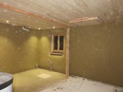 salon (britoune41) Tags: écoconstruction paille terre argile solenterre enduitterre bois cadrecanadien maisonenpaille constructionécologique dordogne tadelak isolationnaturelle