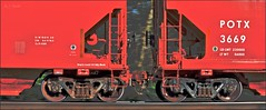 Warhol Potash (Images by A.J.) Tags: andywarhol inspired potash hopper covered canada train railroad freight artistic transportation art pan motion blur