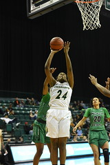 WBasketball-vs-North Texas, 1/26, Chris Crews, DSC_4837 (PsychoticWolf) Tags: 49ers basketball charlotte cusa d1 green mean ncaa ninermedia north nt texas unc uncc unt womens
