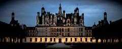 Chambord (Jazzimages) Tags: chateau loire blois chambord nuit lumières night