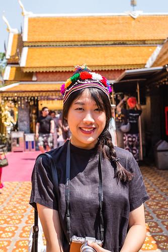Thai Smile - Wat Phrathat Doi Suthep - Chiang Mai - Thailand