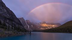 Bow in the  Morning (Ken Krach Photography) Tags: lakemoraine banffnationalpark