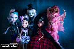 Feliz Aniversário! =D (Mundo Ara) Tags: frankie cupid faybelle duchess cerise doll mattel ever after high monster