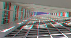 Gevels Stadhuis Den Haag 3D (wim hoppenbrouwers) Tags: gevels stadhuis denhaag 3d facade townhall anaglyph stereo redcyan