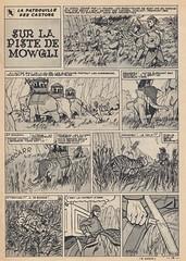 Spirou Nr. 980 / Seite 13 (micky the pixel) Tags: comics comic heft magazin vintage leséditionsdupuis spirou micheltacq mitacq lapatrouilledescastors dieblauenpanther pfadfinder scout indien tiger jagd