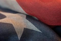 American Textile - Macro Mondays (www.higbyphotography.com) Tags: cloth macromondays pattern macro closeup fabric texture textile flickr americanflag americana
