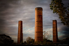 Gulsons of Goulburn (Aurorajane) Tags: bricks brickworks kilns stacks chimneys tall landscape urban goulburn heritage listed nsw 2580 labour built foundations business gulsons history preserve legacy houses homes commercialbuildings important outdoor weathered aged significant mustkeep lep goulburncouncil howdoyoushowcaseatip cmongoulburnprotectandpreserve