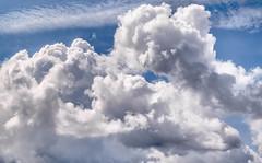 Excuse me while I kiss the sky (PokemonaDeChroma) Tags: skies clouds bracketing exposure 3 hdr