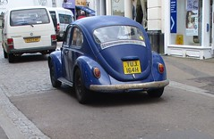 1970 VW 1200 Beetle (occama) Tags: tuj164h vw volkswagen beetle 1200 1970 basic blue standard old car cornwall uk