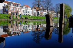 Utrecht reflections (PaulHoo) Tags: utrecht city water kade urban 2017 spring reflections blue canal architecture building fujifilm fuji x70 holland netherlands