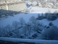 winterlandschaft (wolfgsal) Tags: winterlandschaft 2017 plauen plattenbau fensterblick lichtundschatten 11wg