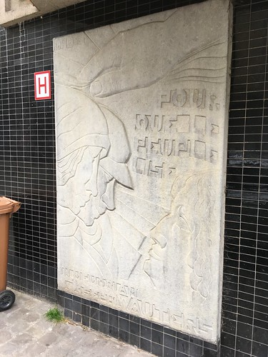 Joseph Wauters memorial, Rue Saint-Laurent, Brussels