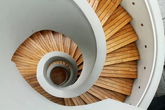 Spiral of Life (Paul Sugano) Tags: architecture stairs spiral cityscape philippines manila