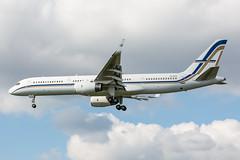 SX-RFA (Daniel Hobbs   Spot2Log) Tags: airport aircraft airplane businessjet corporatejet privatejet heathrow heathrowairport egll lhr gainjet boeing 757