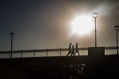 20130903-195509.jpg (A golpe de zapatilla) Tags: contraluz atardecer puentes gente salamanca castillayleón españa es