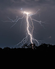 Fury (blue5011b) Tags: lightning thunderstorm storm weather night longexposure violent strike nikon d700 africa