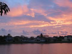 Sunrise over the cove 20170422 (Kenneth Cole Schneider) Tags: florida miramar westmiramarwca