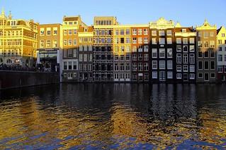 Häuserreihe Amsterdam