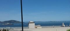 Alcatraz, Angel Island, San Pablo bay (sftrajan) Tags: taylorstreet sanfrancisco russianhill vallejostreet view vista veduta vue inacoolbrithpark alcatraz sanfranciscobay mountains northbay angelisland sanpablobay bay bahia marincounty sonomacounty