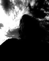 Cloudy (Josu Sein) Tags: sky clouds cloudy storm lowangle backlighting selfportrait surrealism expressionism mystery cinematic instagram selfies monochrome blackandwhite highcontrast dreamscape oneiric