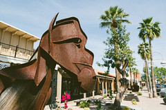 scottsdale, az (jayelyse) Tags: travel scottsdale arizona iron horse statue art