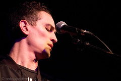 IMG_2329 (redrospective) Tags: 2017 20170316 london march2017 timhause thegarage concert concertphotography eyesclosed gig live man microphone music musicphotography musicians people singer singing spotlights